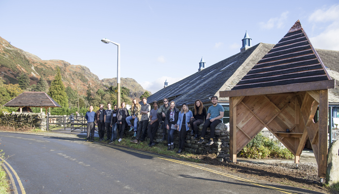 Central Saint Martins students in Coniston