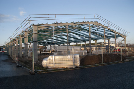 New building at James Jones Forres