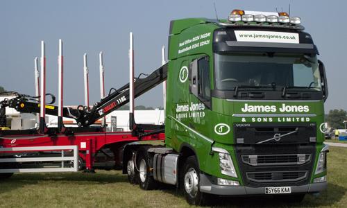 James Jones Volvo FH 500 at APF Show