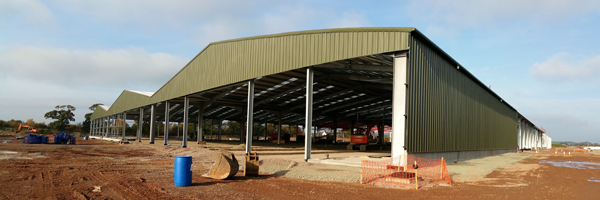 New James Jones storage and processing facility at Lockerbie