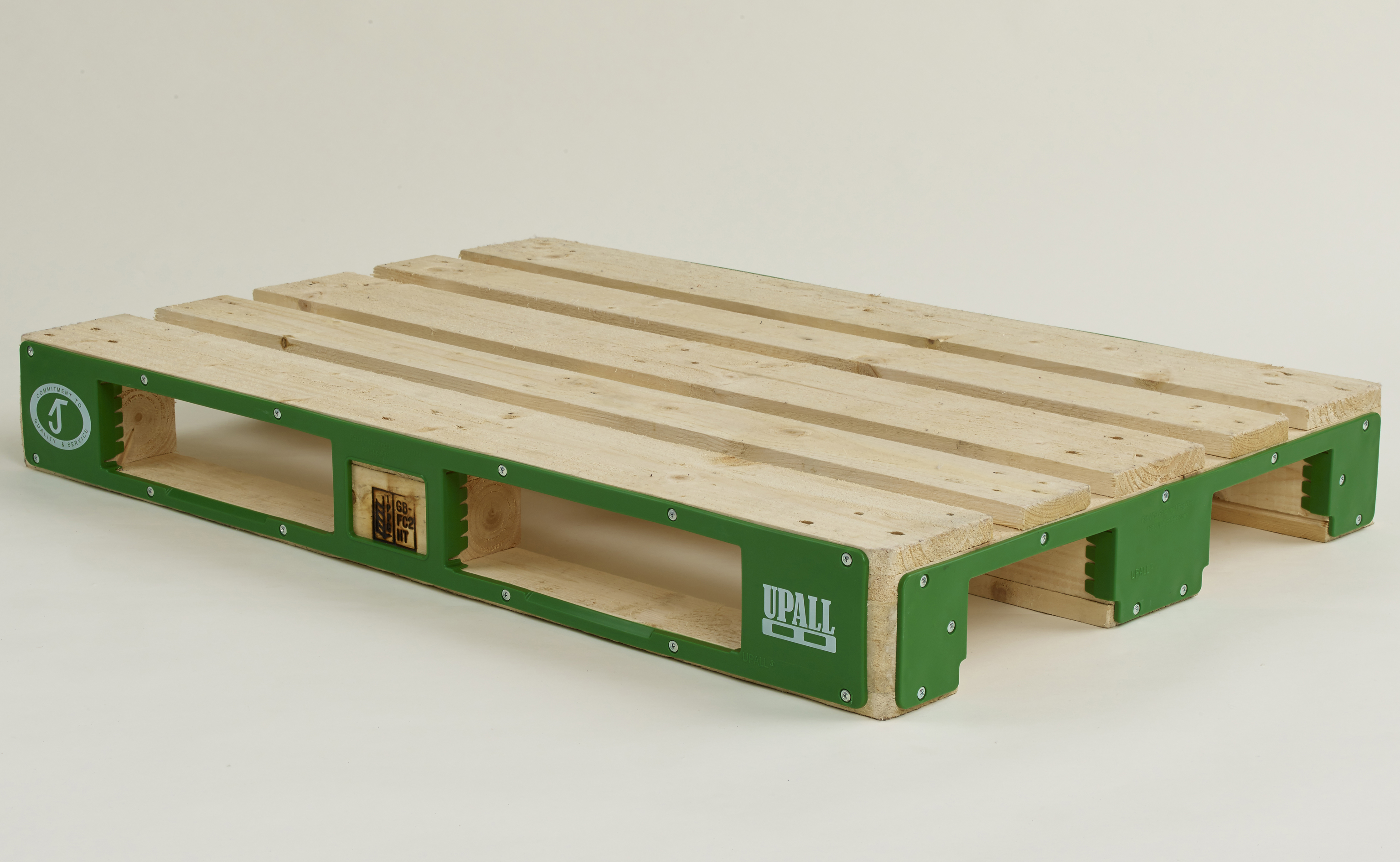 UPALL Pallet Protector on Euro Pallet
