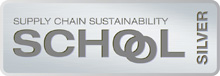 Supply Chain Sustainability School Silver logo