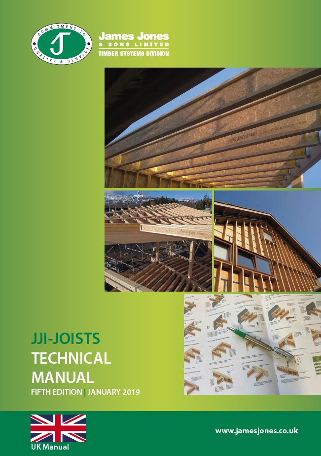 Front Cover of JJI tech manual