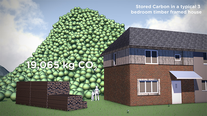 Carbon Visual CO2 in 3 bed house